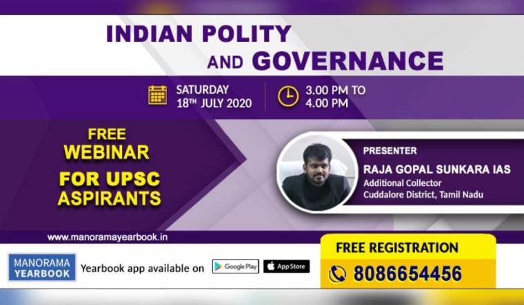 UPSC: Manorama Yearbook Online to organise a free webinar on July 18