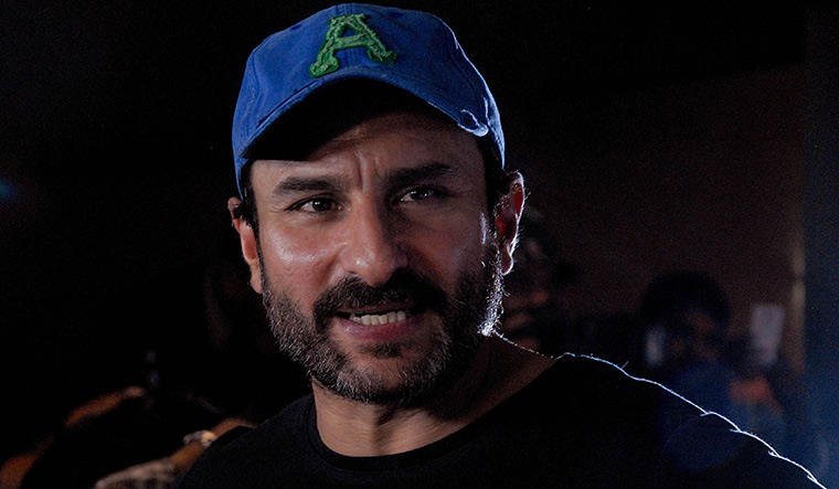 Saif Ali Khan claims being victim of Nepotism