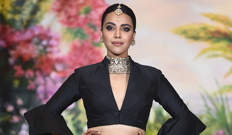No right to be offended by kissing scene if rape in a temple didn't boil your blood: Swara Bhasker