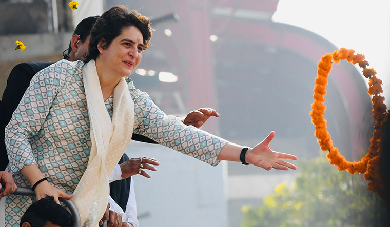 Priyanka Gandhi was to formally kick off Congress's poll campaign from Allahabad on Friday | Salil Bera
