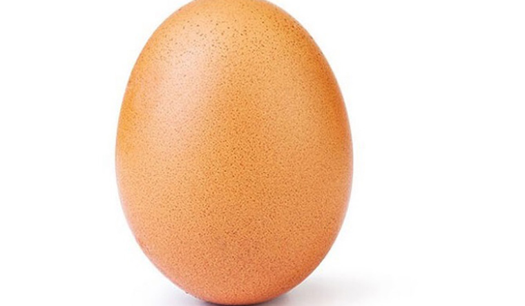 This photo of an egg becomes the most-liked Instagram post ever!
