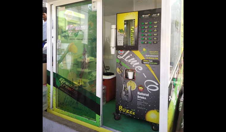 Inside The Lime O An Automated Lime Juice Vending Machine The Week