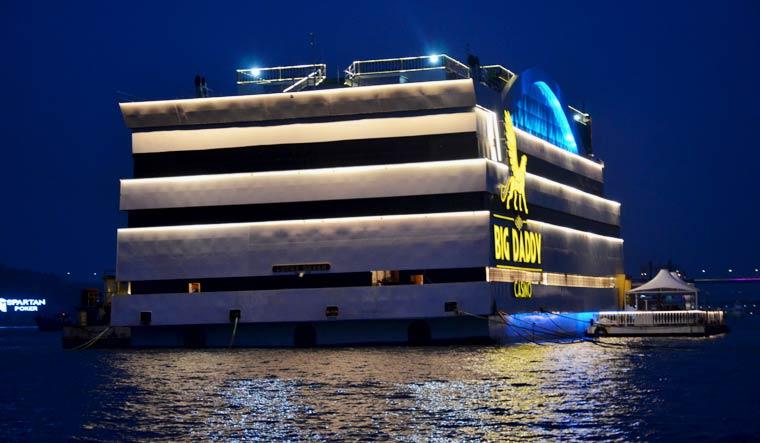 Experience Las Vegas in Goa: The floating casino on the Mandovi