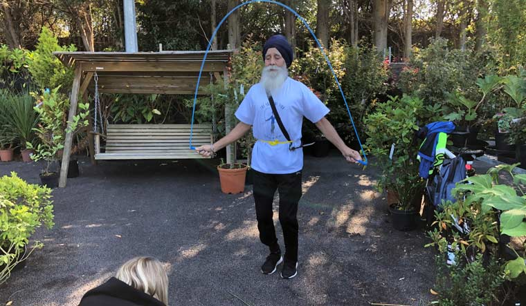 The Skipping Sikh: This 74-yr-old British Sikh makes fitness his life's mission