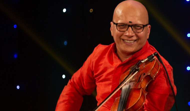 Kumaresh R, the man who wants to make learning of Indian violin joyous and easy