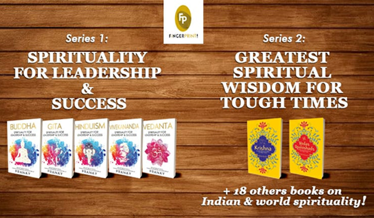 25 Splendid Spiritual Books from Pranay & Fingerprint!
