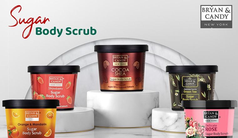 Want to give your skin a lustrous and glowing effect? Try the exclusive Sugar body scrubs from 'Bryan & Candy'