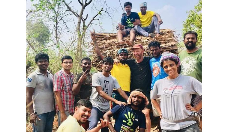 Post Gaja, trekking club brings joy through relief operations