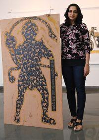 Champa Sharath with her collection | Bhanu Prakash Chandra