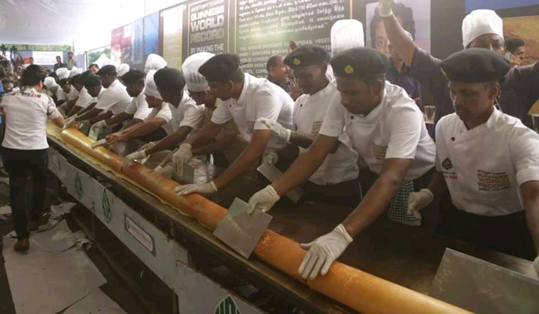 100-feet-long dosa to whet your appetite