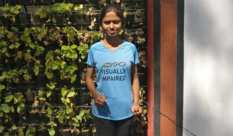 Indomitable spirit: 19-yr-old visually challenged girl gears up for 150km run