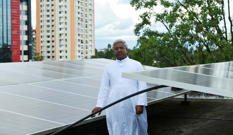 'Bharat Mata' ki jai! Kerala college goes fully solar for green campus