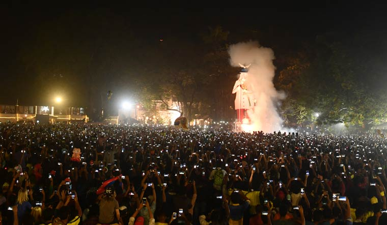 New Year in Fort Kochi: 'Pappanji', Carnival and more