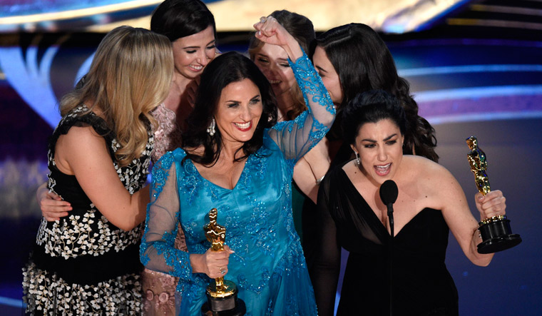 An Oscar for a film on periods is just what the world needed