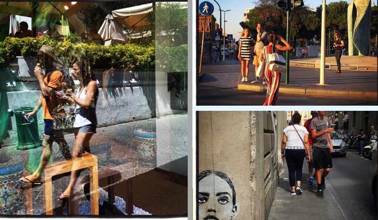 'Across the Street': Italy through an iPhone lens