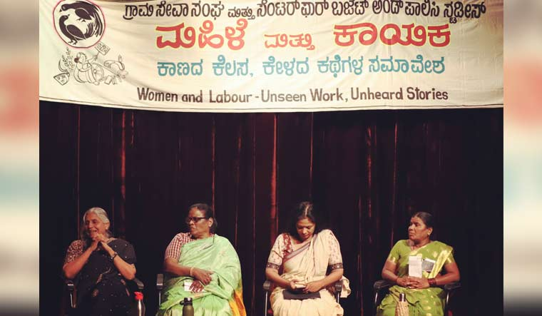 Women demand domestic work be factored into GDP