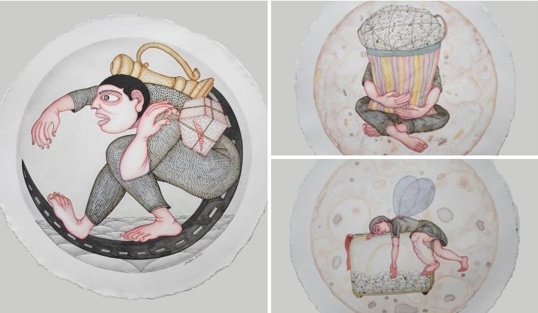 Anjan Modak paints the psychological cosmos of migrant workers