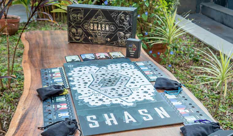 Raising  over Rs 4.5 crore , Shasn become most-crowdfunded game from India