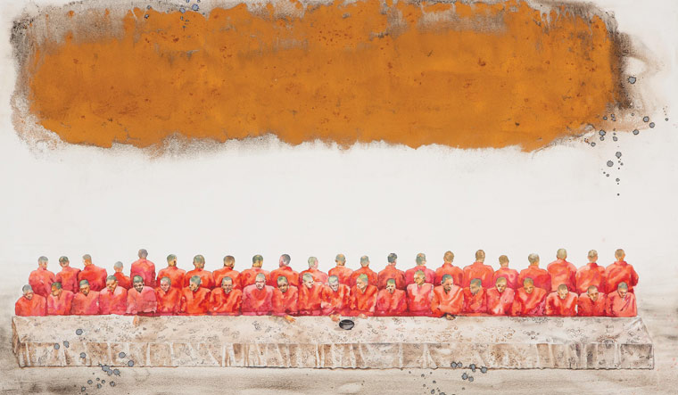 The Last Supper, as imagined by Indian painters