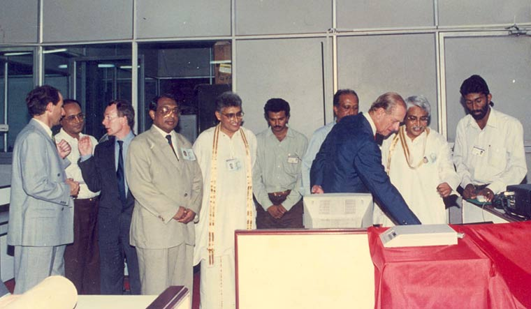 ARCHIVES: When Prince Philip launched THE WEEK online on his visit to Malayala Manorama