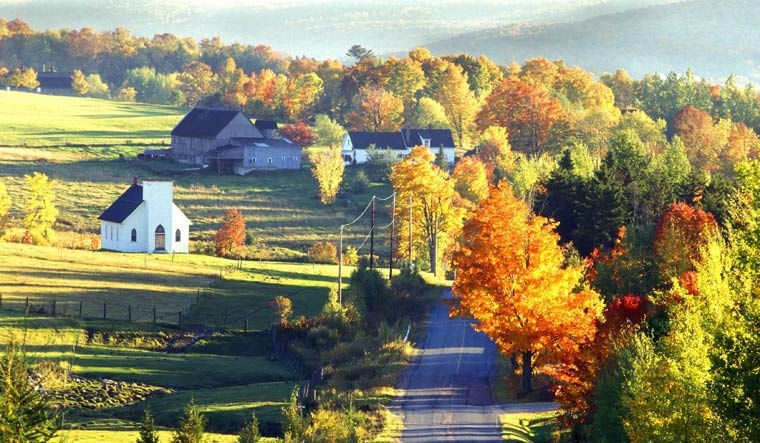 The charms of Quebecois countryside