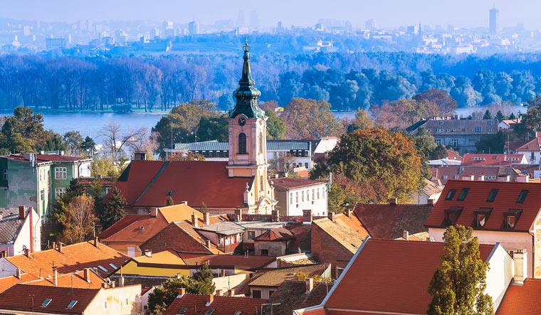 Zipping around Zemun