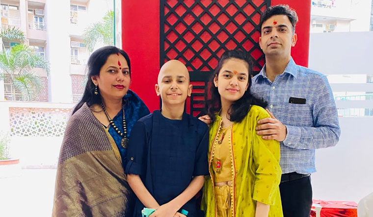 collective fight: Rudransh and his family