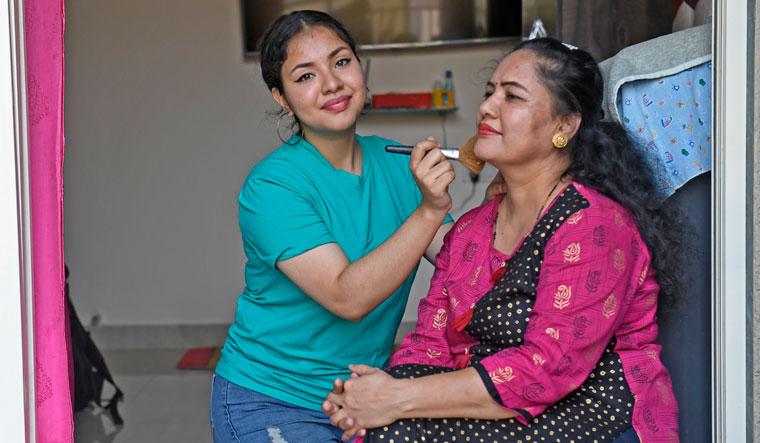 Her Strength: Sahara with her mother Shanti |  | Amey Mansabdar
