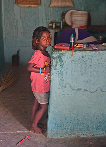 Victim of apathy: Six-year-old Garima was diagnosed with leprosy in January 2019 | Amey Mansabdar