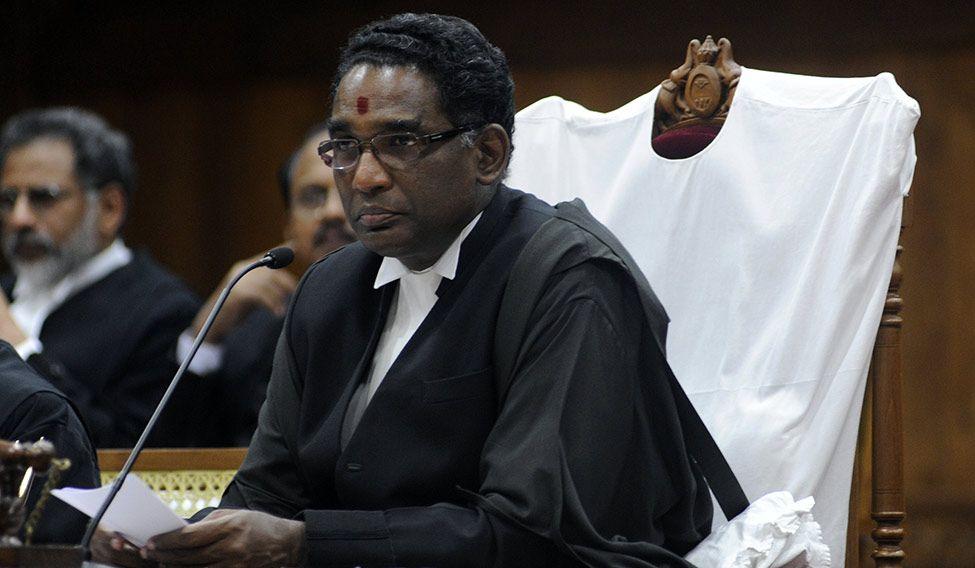 Supreme Court judge Jasti Chelameswar