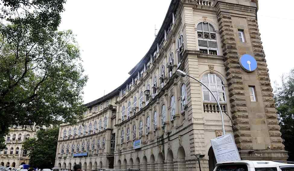 The SBI main branch in Mumbai.