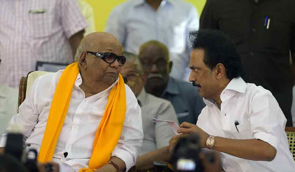 'Son of the soil' Karunanidhi harbours hopes of win