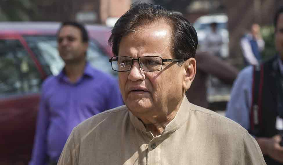 I do not know any middlemen :    Ahmed Patel, MP and political secretary to Congress president Sonia Gandhi