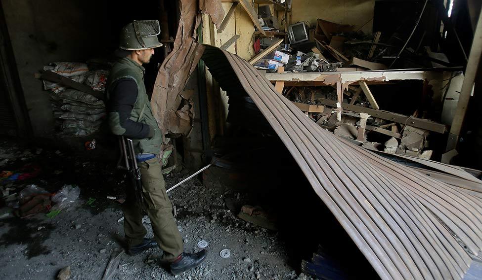India Kashmir Blast
