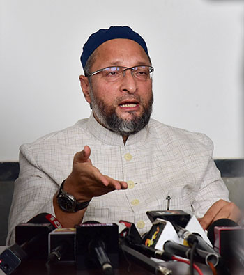 Asaduddin Owaisi's AIMIM dented the chances of the grand alliance