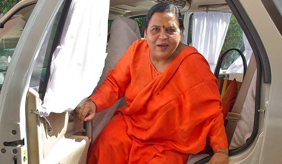Uma Bharti plans padyatra over Namami Gange mission