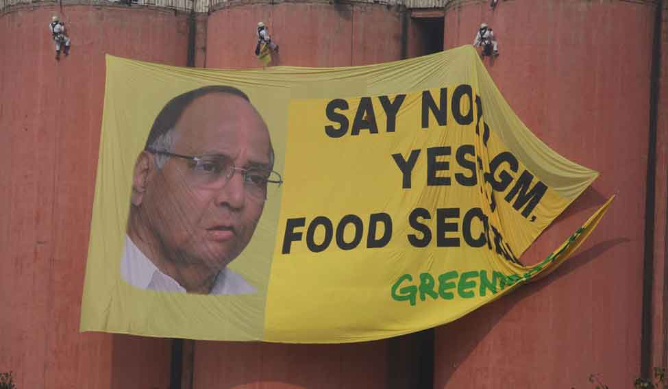 Greenpeace-sharad-pawar