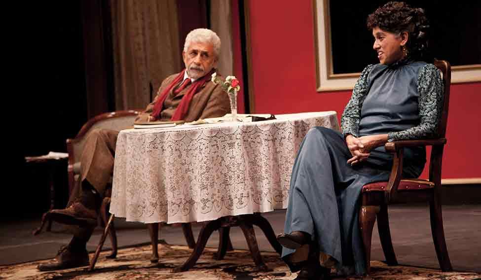 Naseeruddin Shah and Ratna Pathak Shah in Dear Liar