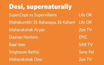 Telly dose of superheroes