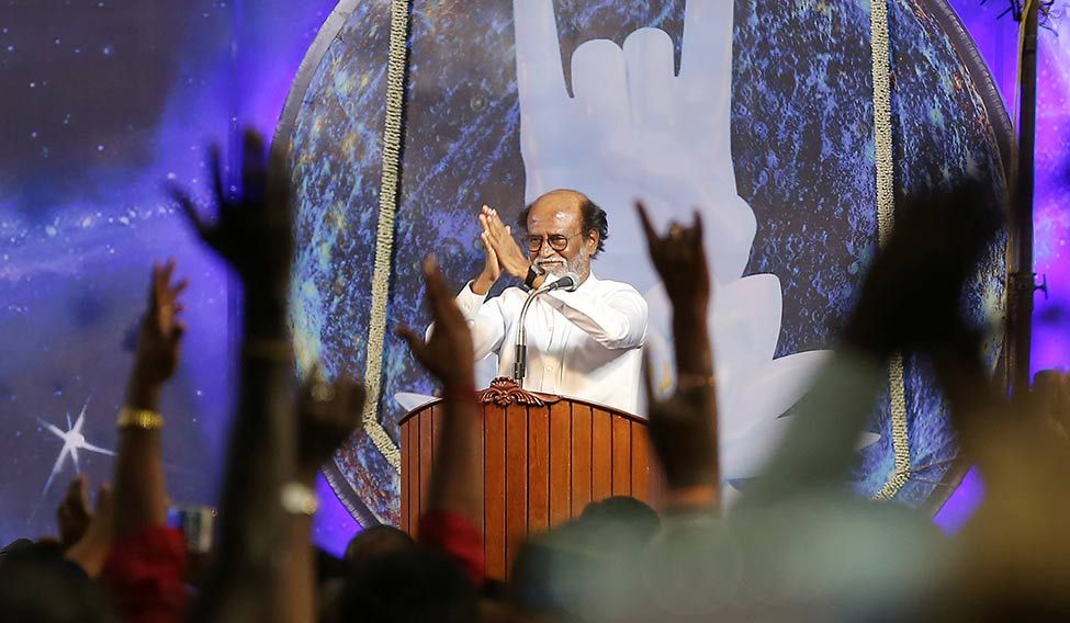 INDIA-POLITICS/ACTOR-RAJINIKANTH