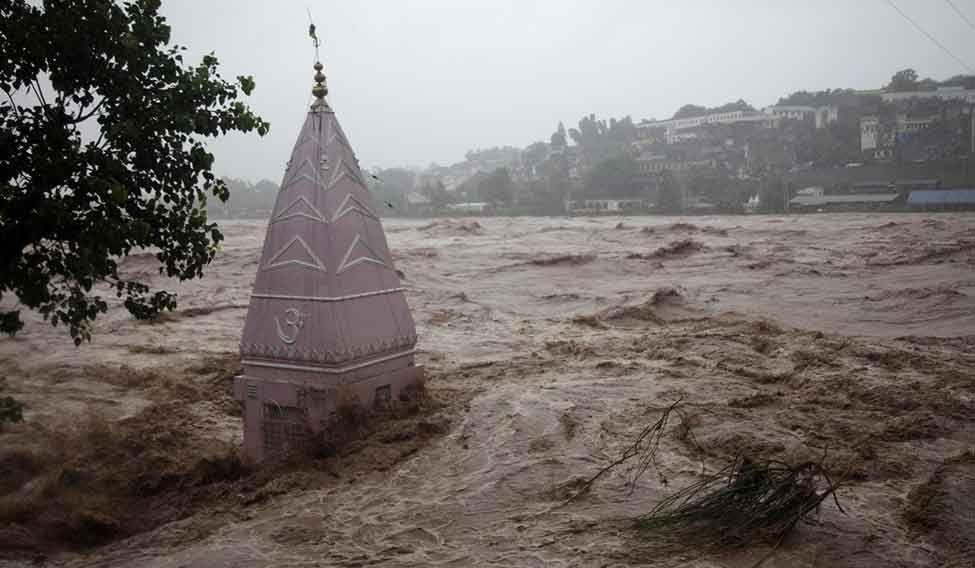 Mountain floods