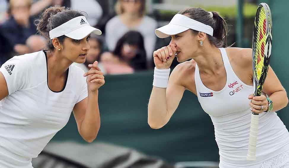 Santina changed image of women's doubles