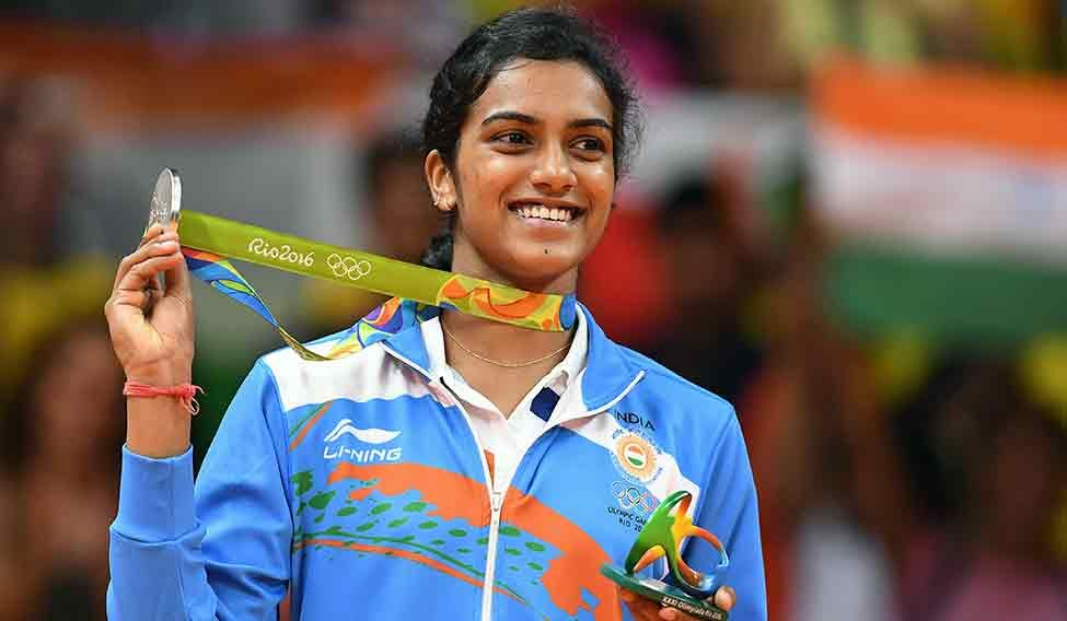 P.V. Sindhu's medal was the first silver by an Indian shuttler at the Olympics