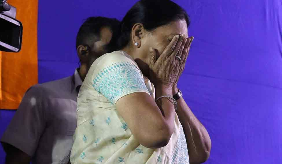 Anandiben Patel, the first woman chief minister of Gujarat