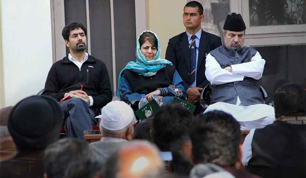 PDP to take call on government formation in J&K