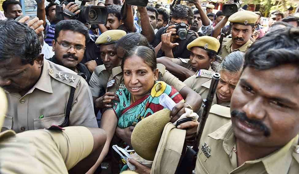 HC grants 24-hour parole to Nalini to attend father's rites
