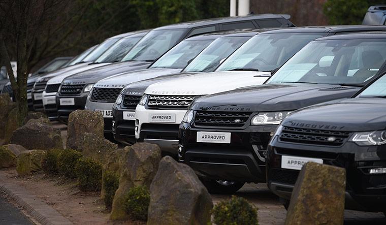 BRITAIN-INDIA-TATAMOTORS-JLR-AUTO-LAYOFFS-AUTOMOBILE-MANUFACTURI
