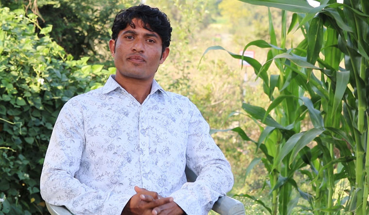 Farmer's choice: Kishan Rathor said an agritech firm's app helped him decrease production cost and increase yield