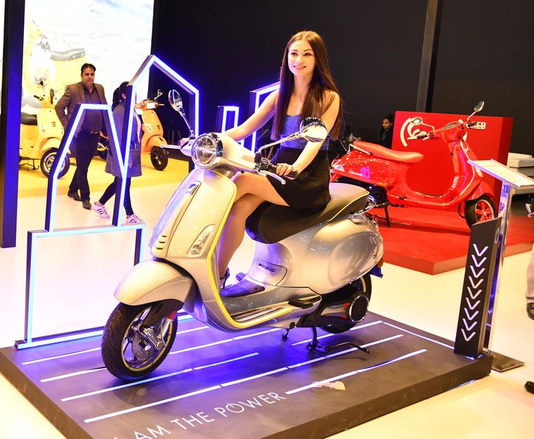 Vespa Elettrica- Piaggio announced that it was working on a new electric scooter for India and it would be based on the Elettrica, which is popular in Europe.