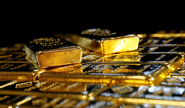 Gold price in Delhi market on Saturday was just above 50,000 rupees for 10 grams | Reuters
